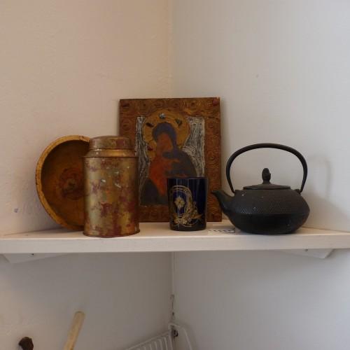 An inspirational shelf